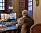 Kungens arbetsrum Drottningholms slott Privata våning bostad Drottningholm