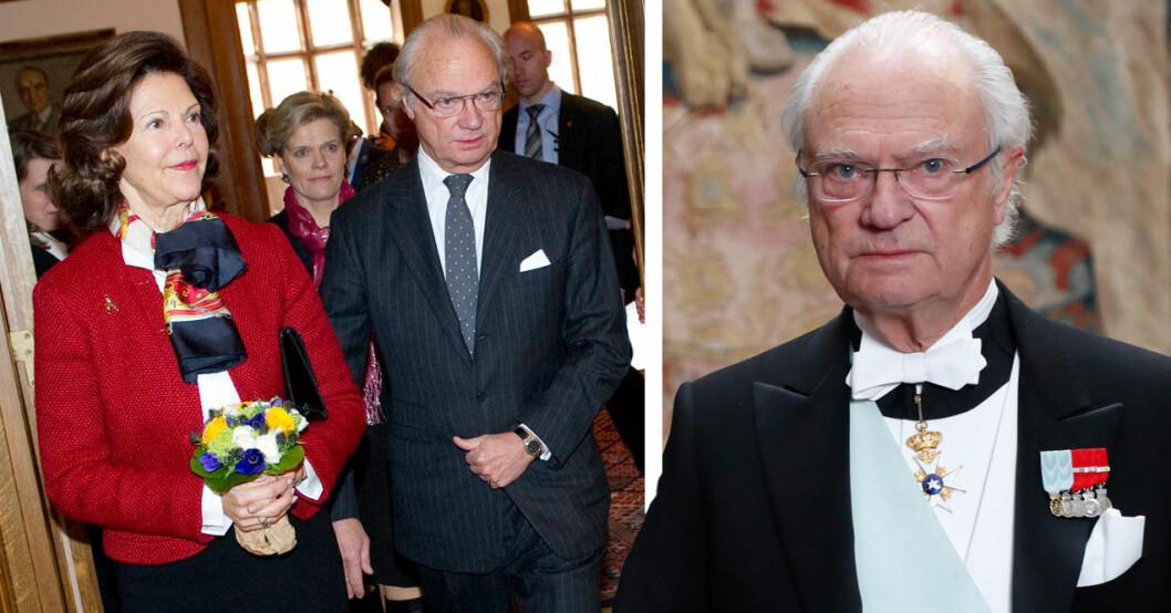 kungens ilska efter händelsen med drottning Silvia