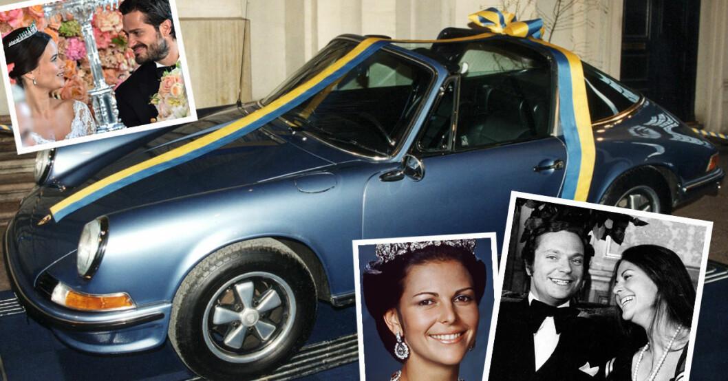 Kungens Porsche – en symbol för kungaparets kärlek.