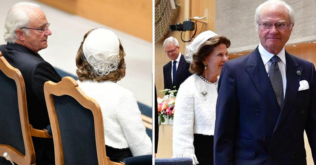 Kungen och Silvia skötte sig strålande under Riksmötet.