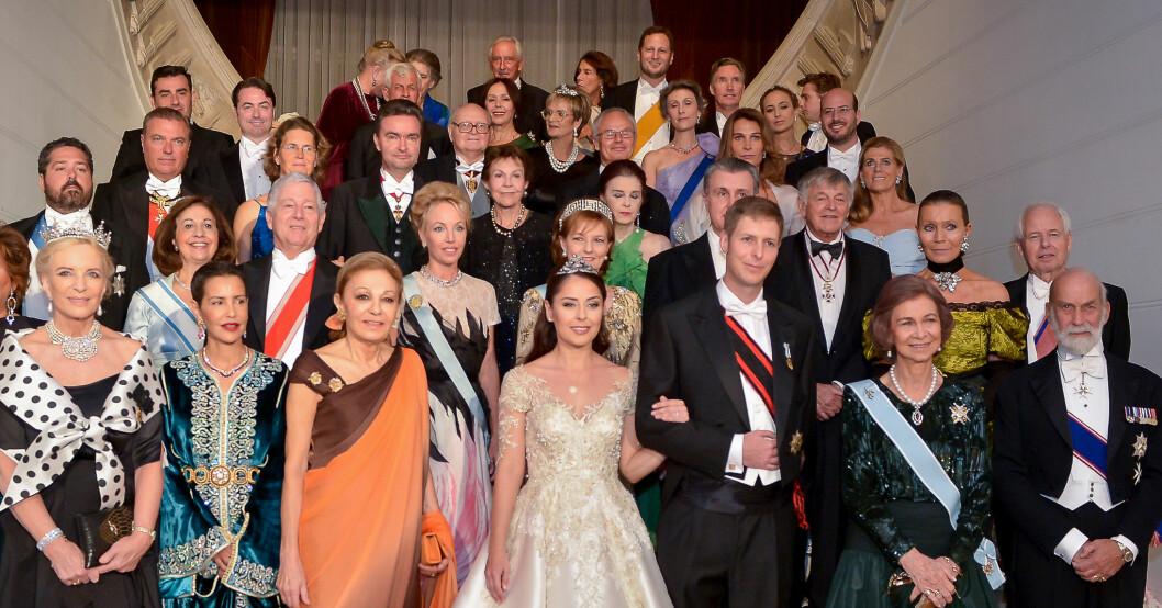 Kungligt arvsbråk Camilla av de två Sicilierna Kronprins Leka bröllop