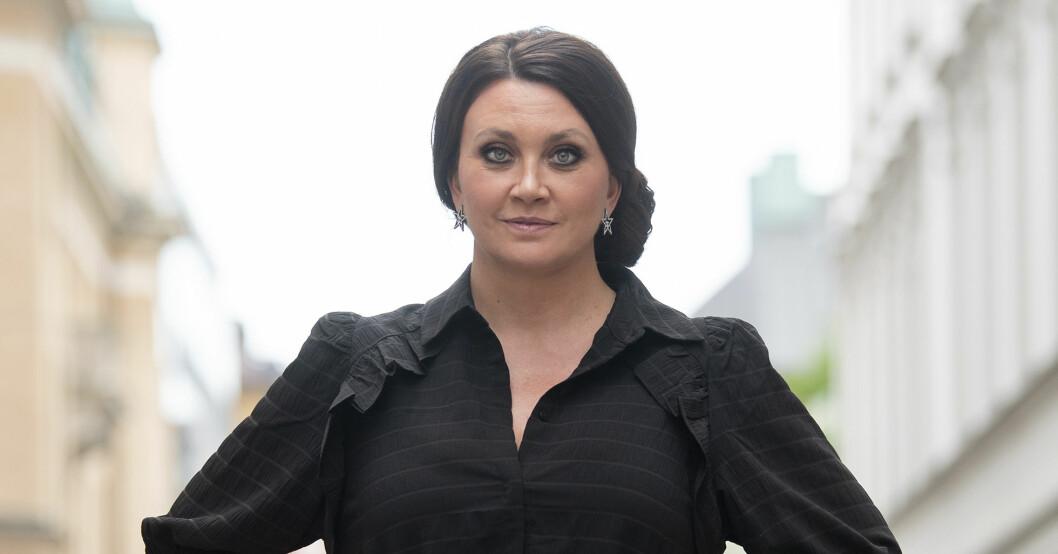 Camilla Läckberg är bland annat aktuell med det kommande programmet Svenska powerkvinnor.