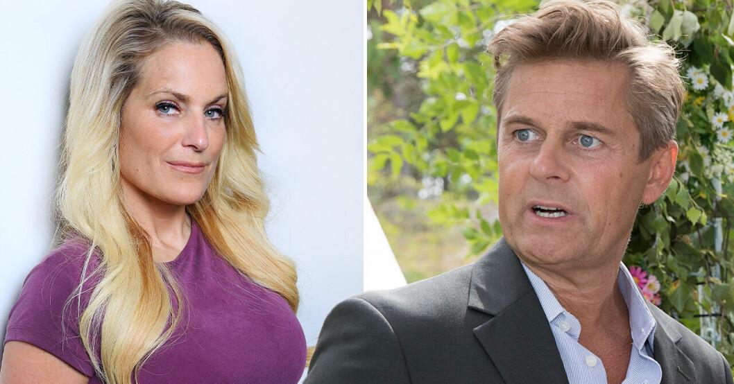 Så ser relationen mellan Laila Bagge och Niclas Wahlgren i dag efter skilsmässan