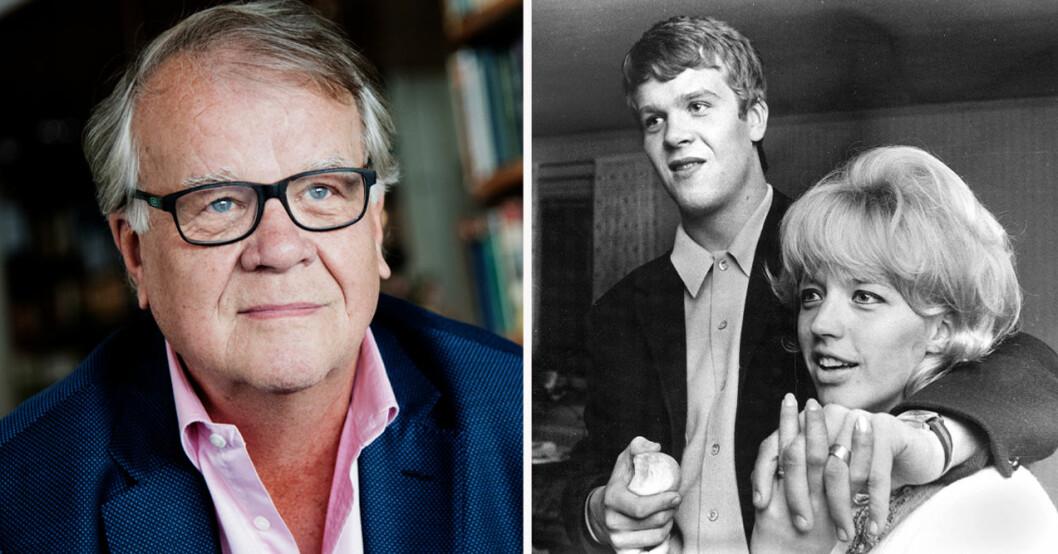 """Lasse Berghagen och Barbro """"Lill-Babs"""" Svensson"""