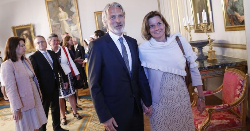 Lasse Nilsson och Isabella Lövin
