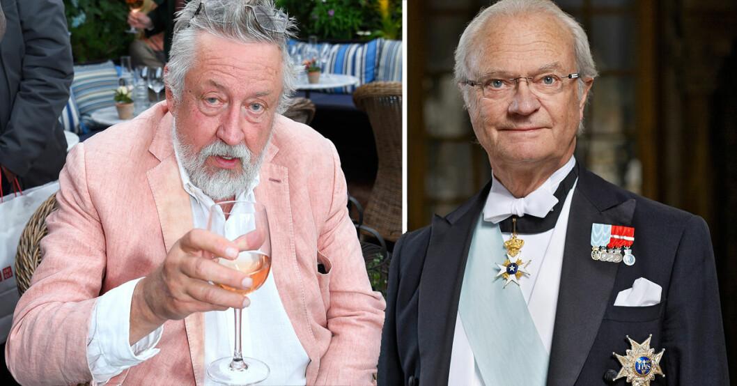 Leif GW Persson och kungen
