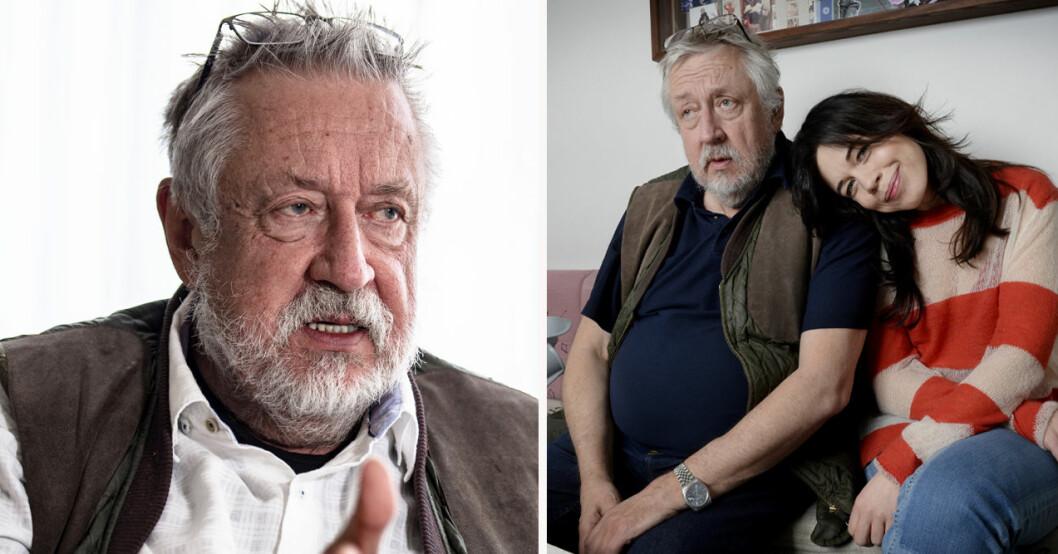 Leif GW Persson och Lotta Lundgren