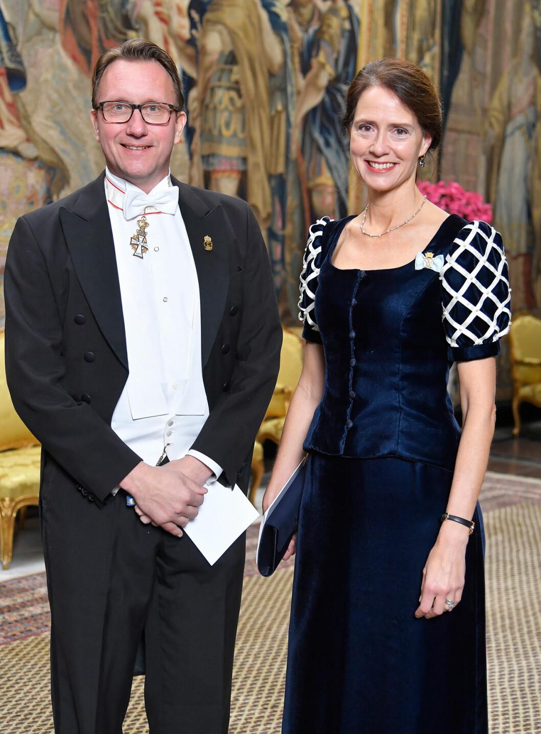 Göran Lithell Lena Bartholdson hovmarskalk