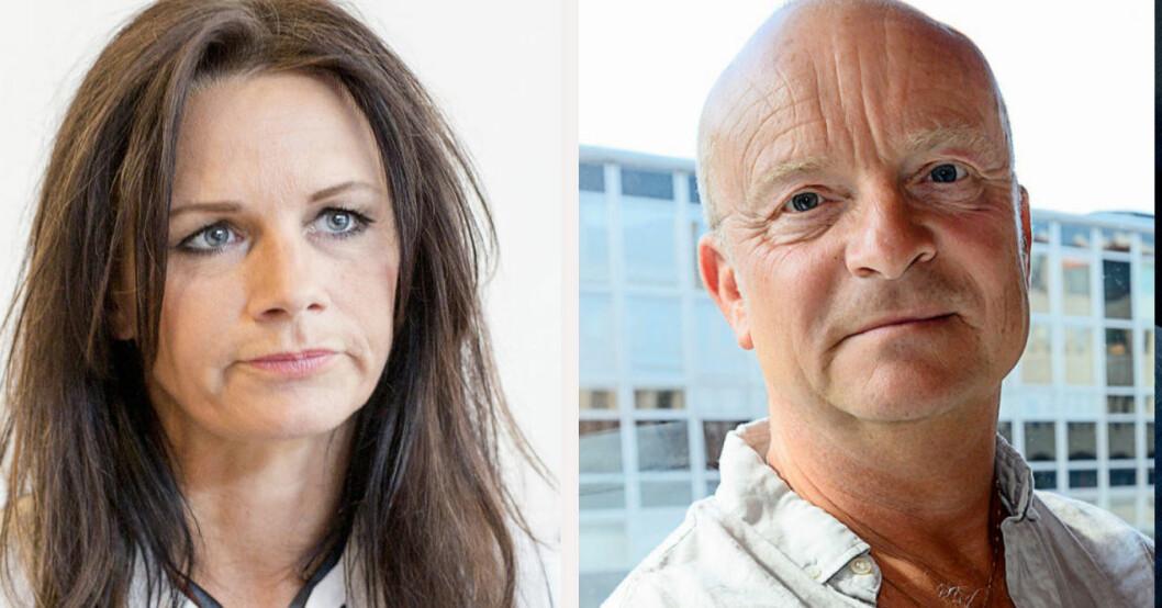 Lena Philipsson och Jonas Gardell