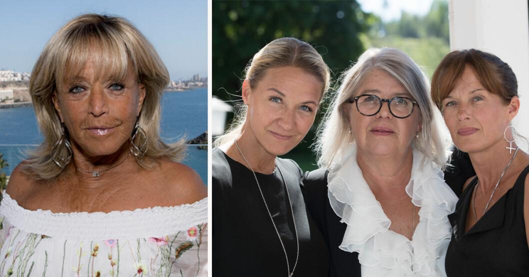 """Barbo """"Lill-Babs"""" Svensson, Kristin Kaspersen, Monica Svensson och Malin Berghagen"""