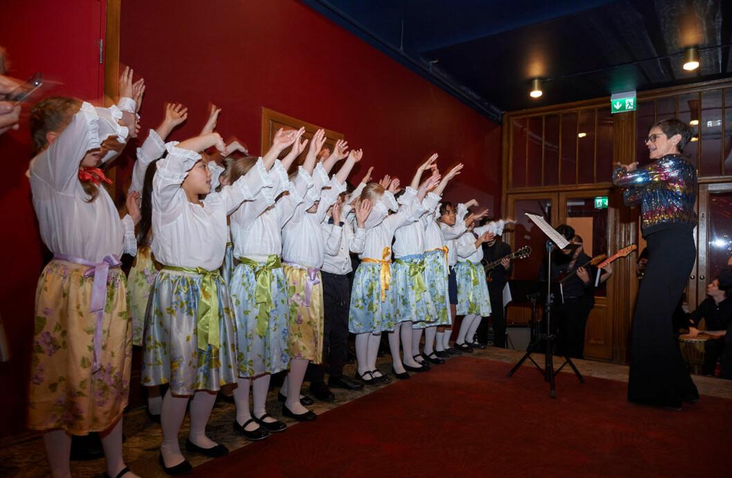 Musikskolan Lilla Akademien har konsert för drottning Silvia.