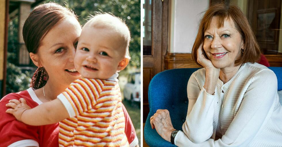 Lill Lindfors och Peter Wester fick dottern Petronella Wester 1969, här på bilden är hon ett år gammal.