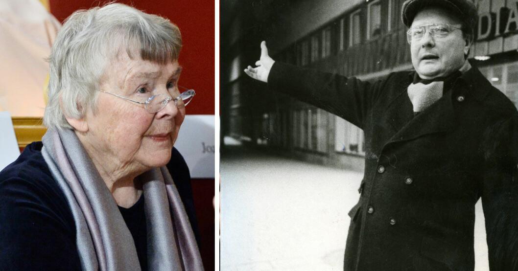 Stig Engström hävdar att han växlade några ord med Lisbeth Palme.