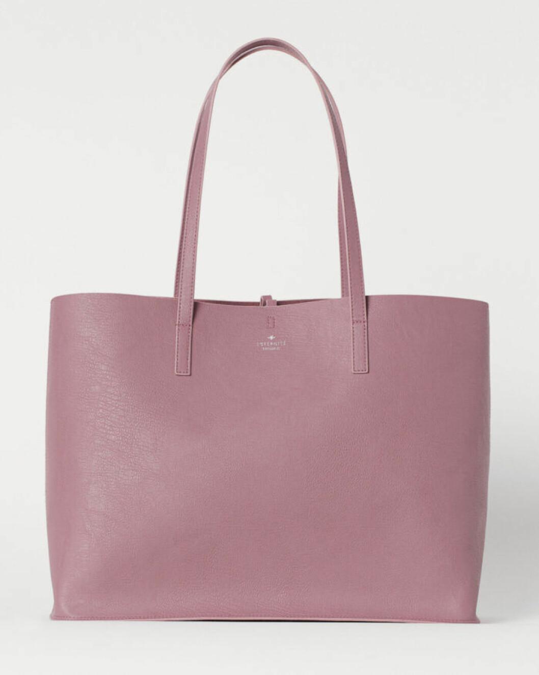 Ljusrosa väska för dam till våren 2020