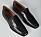 Svarta loafers