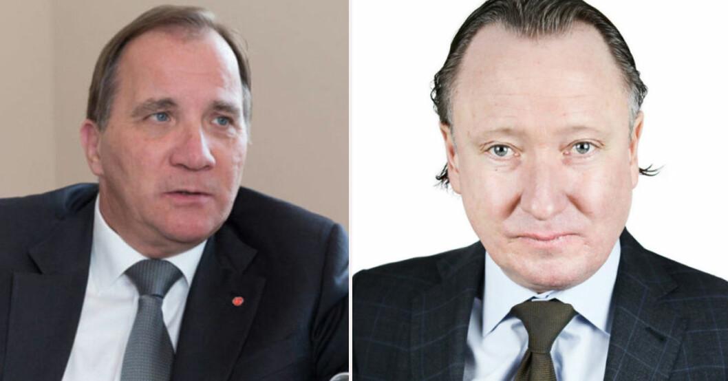 Stefan Löfven och Johan T Lindwall