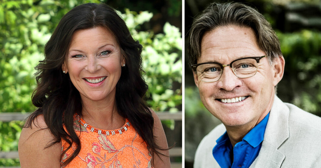 """Lotta Engberg och Mikael """"Soldoktorn"""" Sandström"""
