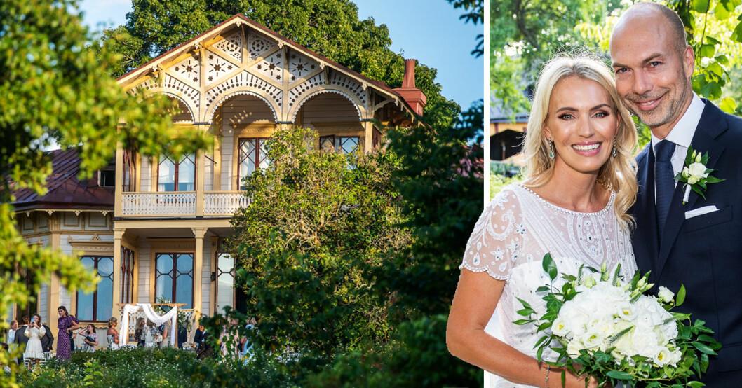 Familjen Brodins hem Loviseberg i Ulriksdals slottspark är till salu