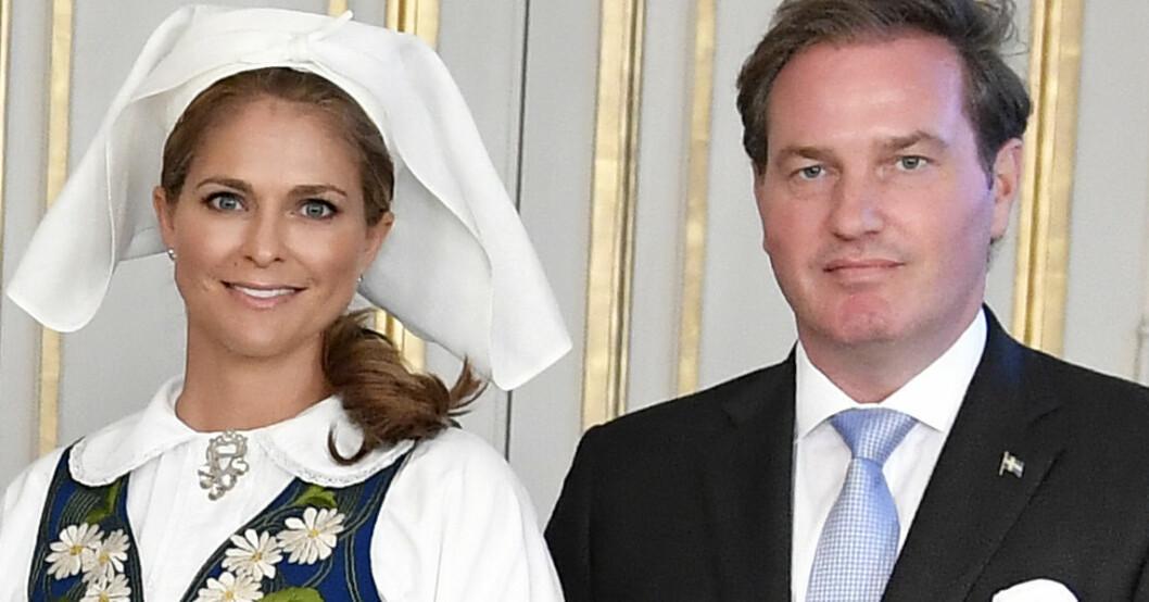 Prinsessan Madeleine Chris O'Neill Nationaldagen 2018