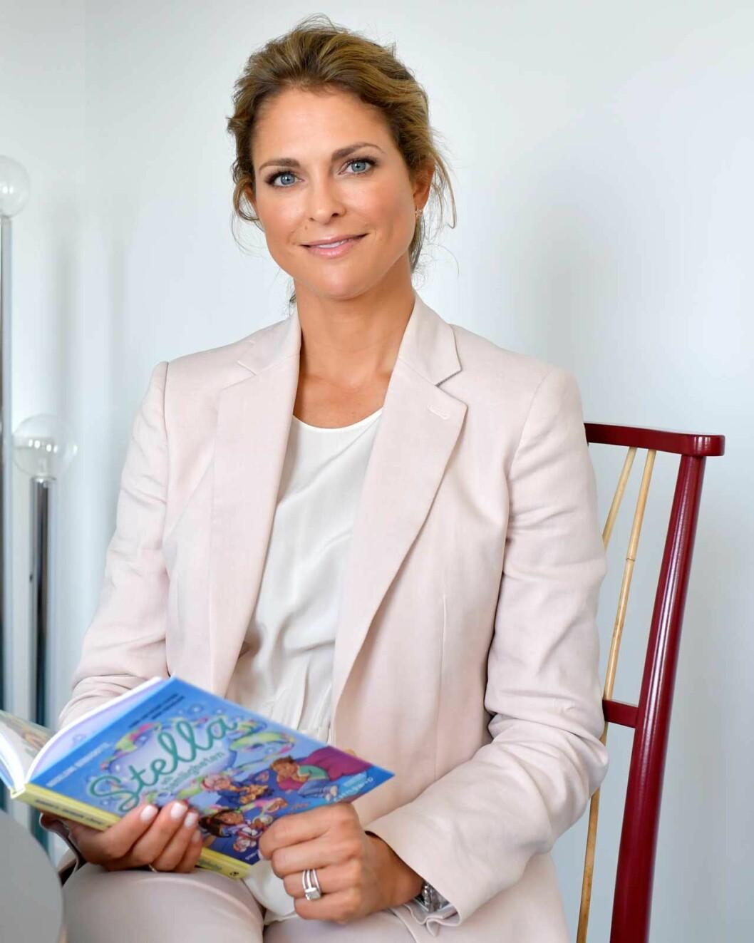 Prinsessan Madeleine kommer till Bokmässan i Göteborg fredagen den 27 september.
