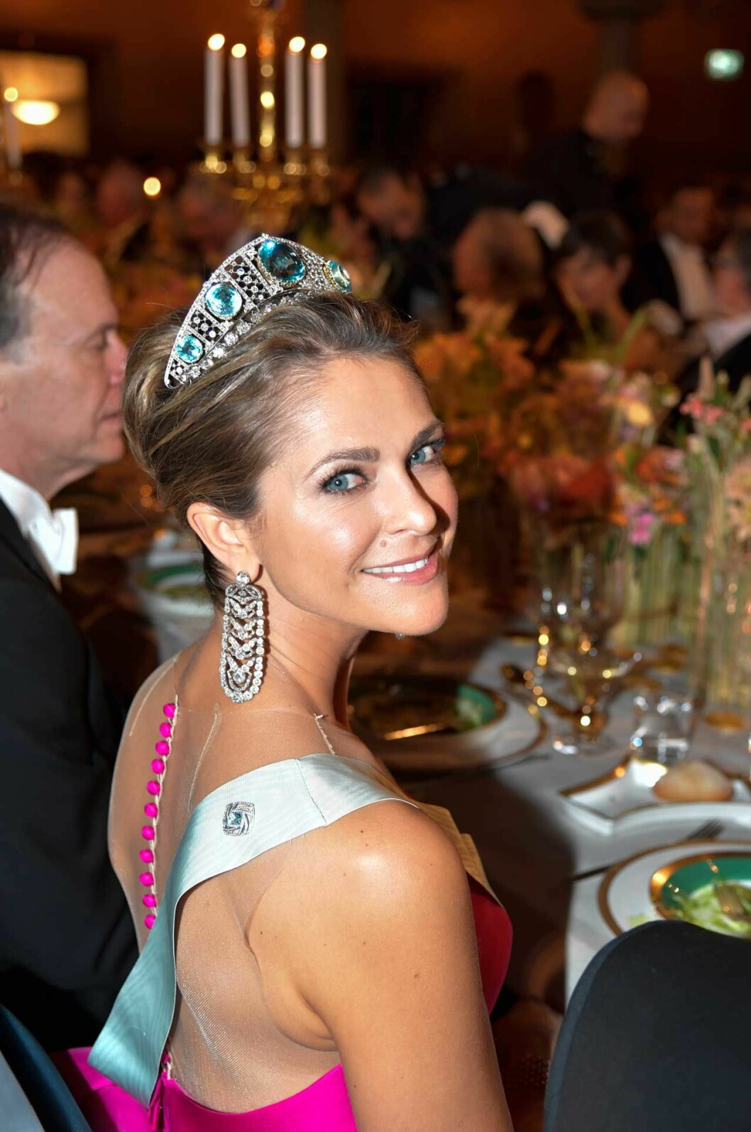 Prinsessan Madeleines i 2019 års Nobelklänning från Angel Sanchez.