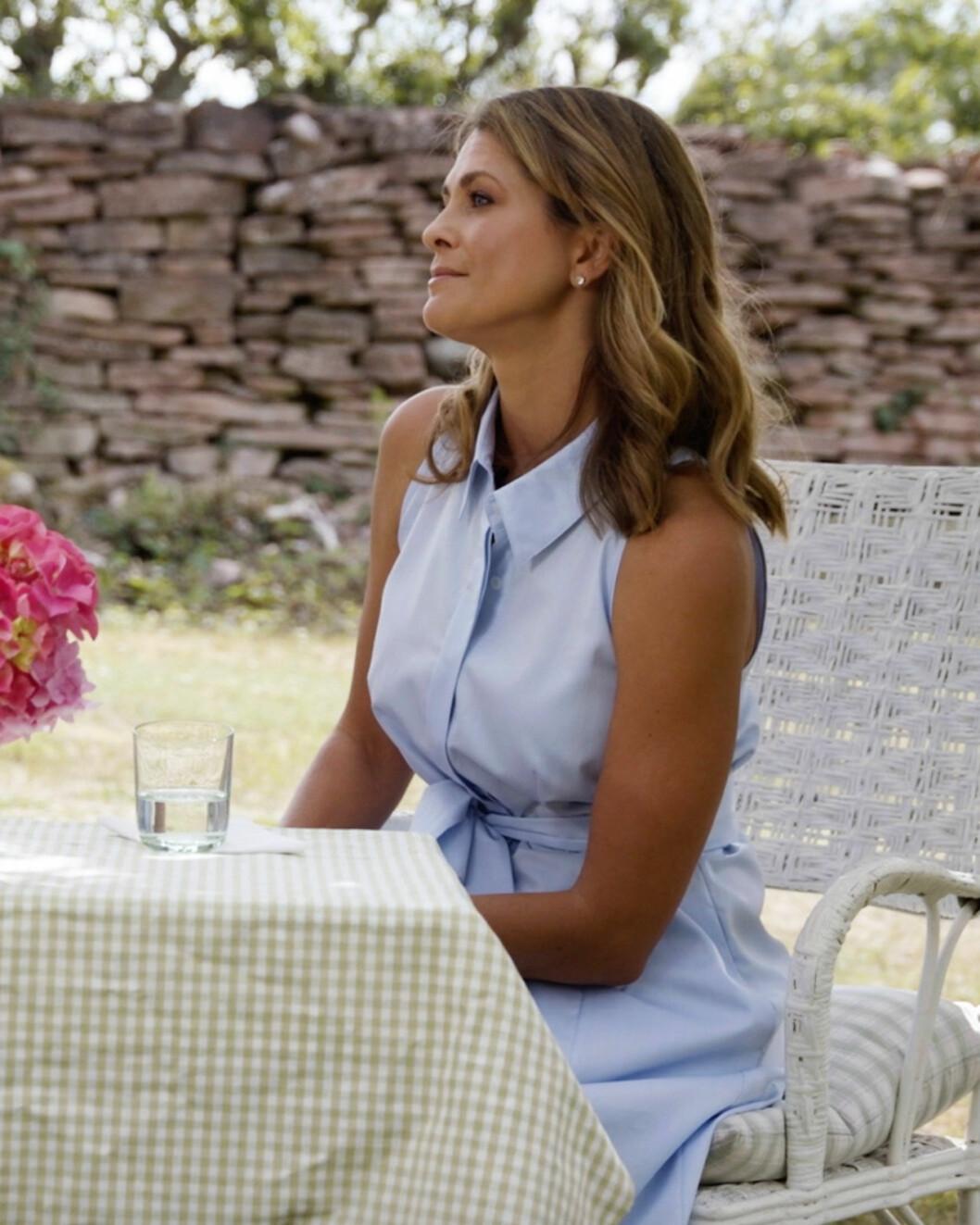 Prinsessan Madeleine i den kommande Viaplay-dokumentären Barnens drottning.