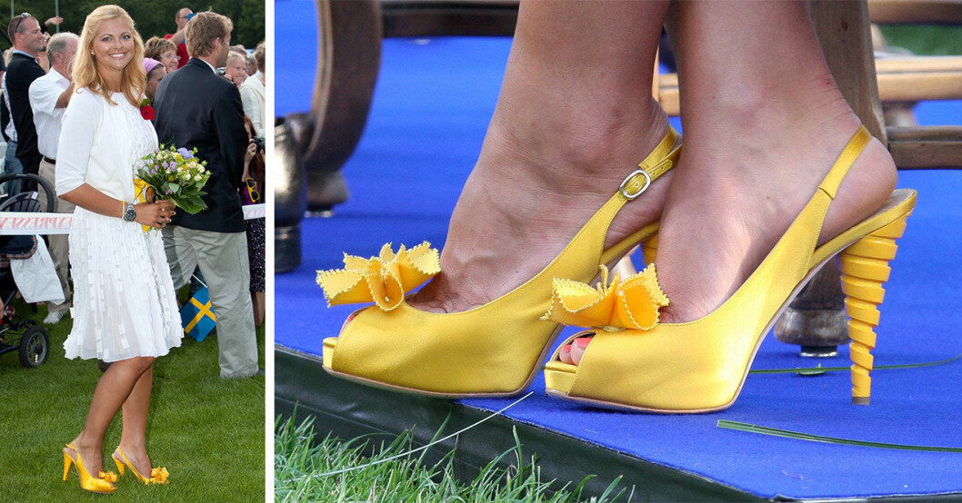 Madeleine i gula skor