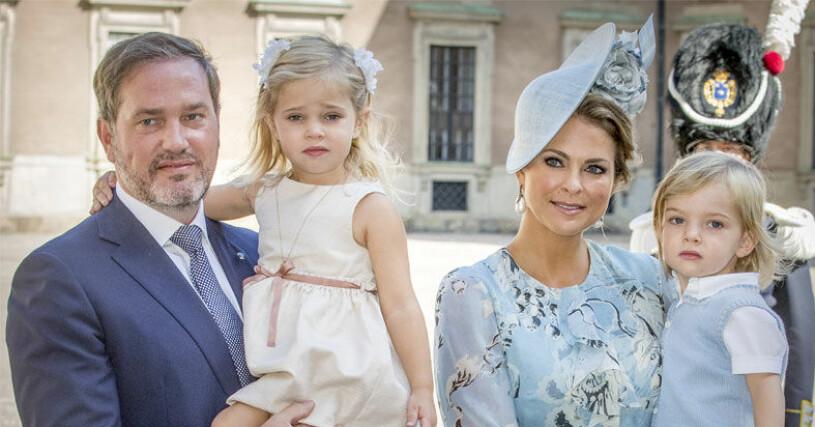 prinsessan Madeleine chris oäneill prinsessan leonore prins nicolas