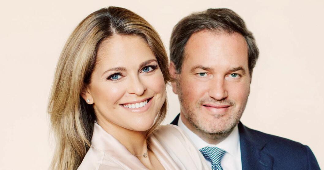 Prinsessan Madeleine och Chris O'Neill