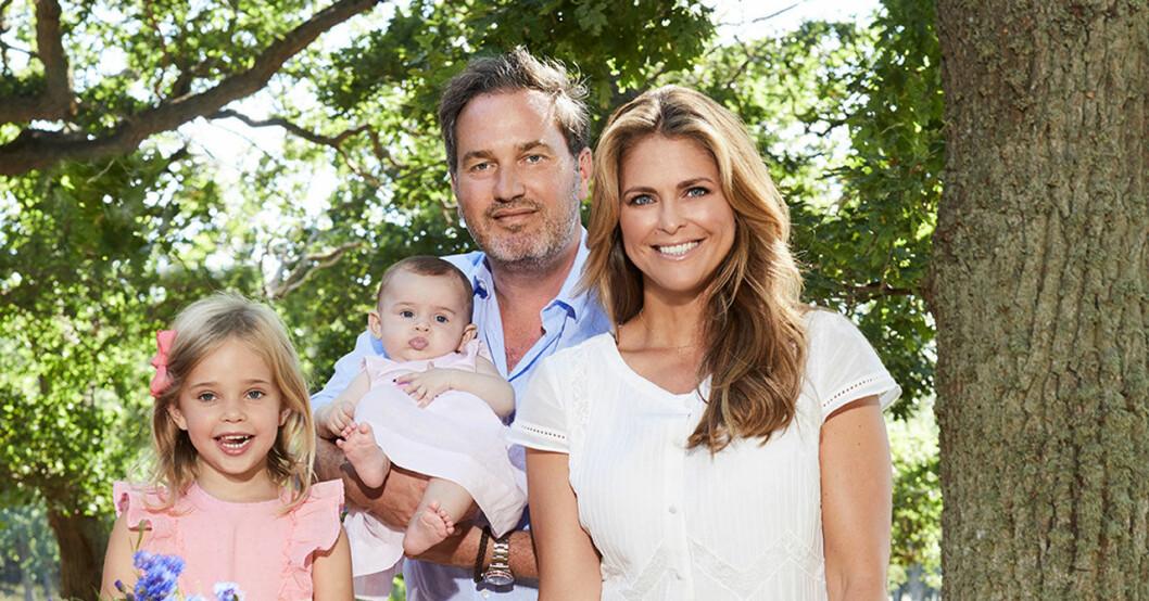 Prinsessan Adrienne, Chris och Madeleine