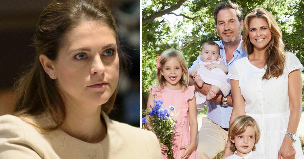Prinsessan Madeleine och hennes familj