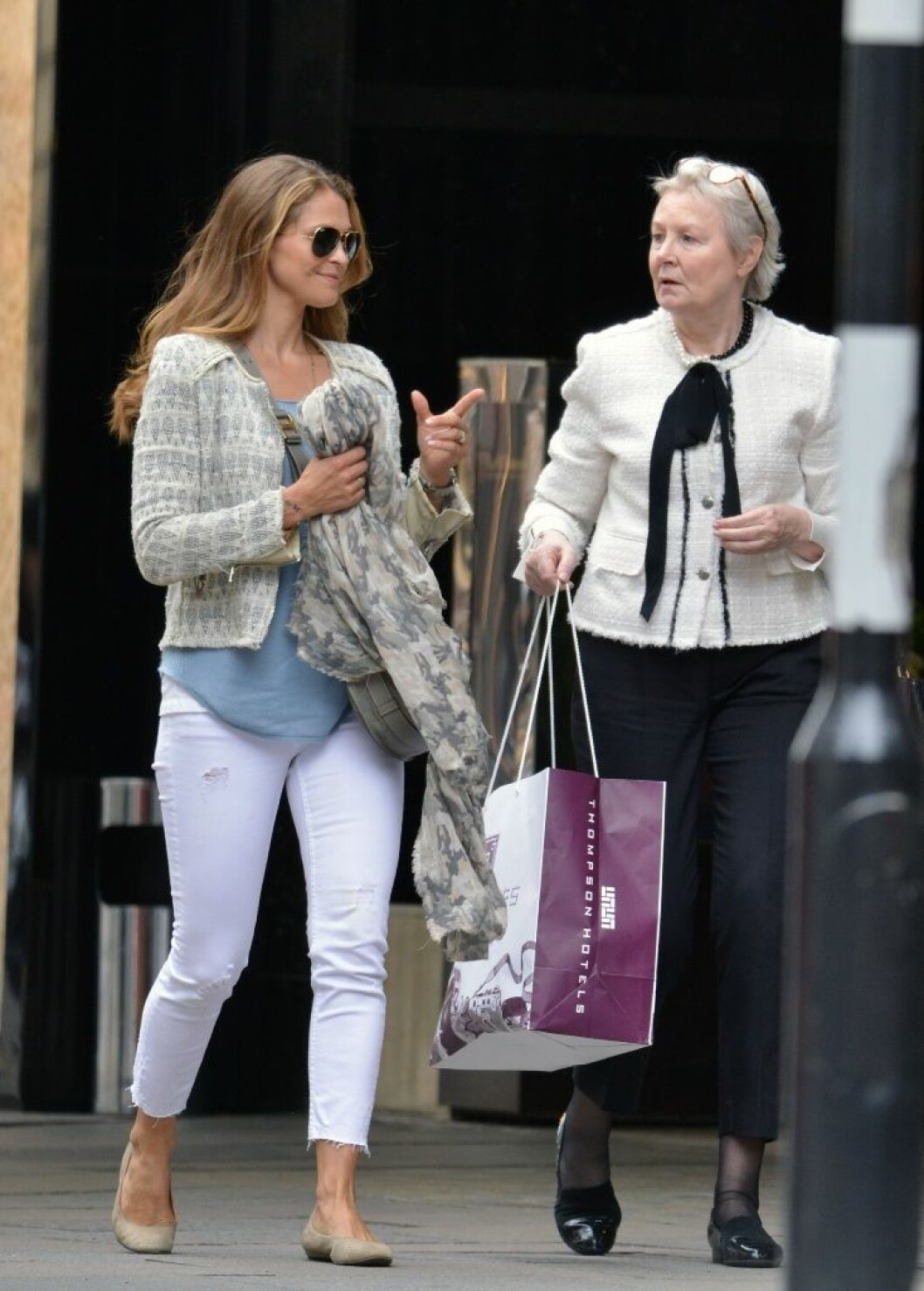 17 May 2016 - London - UK *** EXCLUSIVE PICTURES *** ** STRICTLY NOT AVAILABLE FOR MAIL ONLINE AND ANY ONLINE SUBSCRIPTION DEALS UNLESS FEE AGREED PRIOR TO USAGE*** NO AUSTRALIA NO SPAIN Princess Madeleine Of Sweden seen out and about shopping with a friend on Sloane Street visiting expensive boutiques. Madeleine puts a protective hand on her stomach and looks a little rounded around her waist is she expecting a new little Prince or Princess? BYLINE MUST READ : XPOSUREPHOTOS.COM ***UK CLIENTS - PICTURES CONTAINING CHILDREN PLEASE PIXELATE FACE PRIOR TO PUBLICATION *** **UK CLIENTS MUST CALL PRIOR TO TV OR ONLINE USAGE PLEASE TELEPHONE 44 208 344 2007**