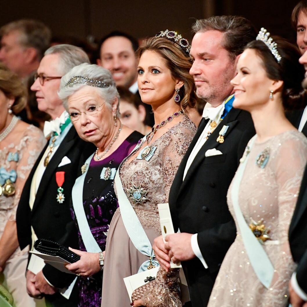 Nobelglamour à la prinsessan Madeleine.
