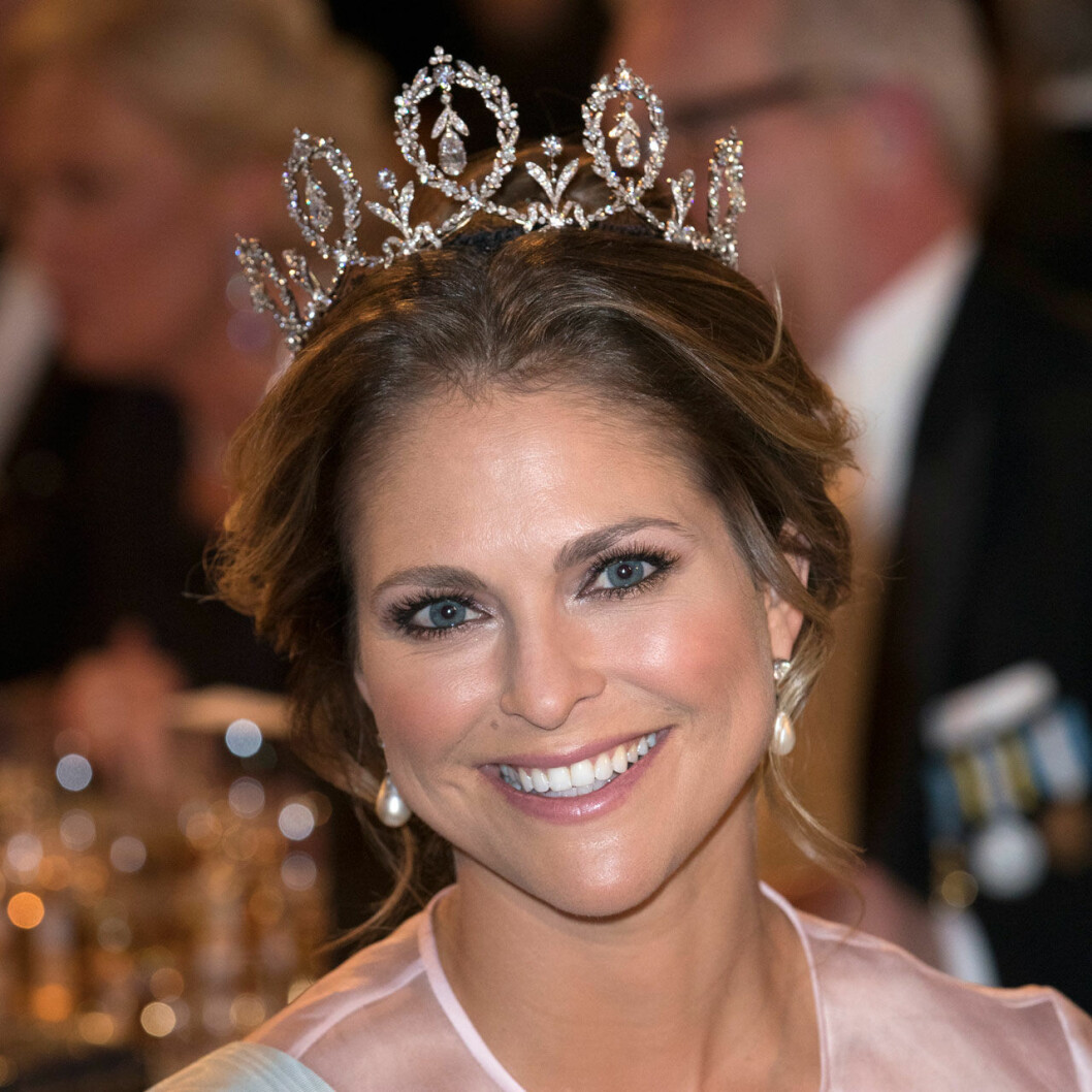 prinsessan Madeleine på Nobelfesten