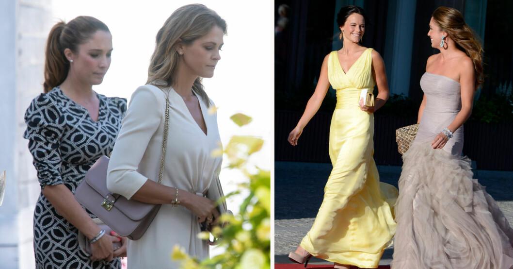 "Louise ""Lussan"" Thott, prinsessan Madeleine och prinsessan Sofia"
