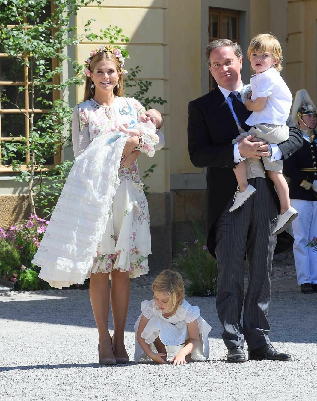 Prinsessan Madeleine säger att det kommer att komma naturligt när det är dags att berätta för barnen att de är kungliga.