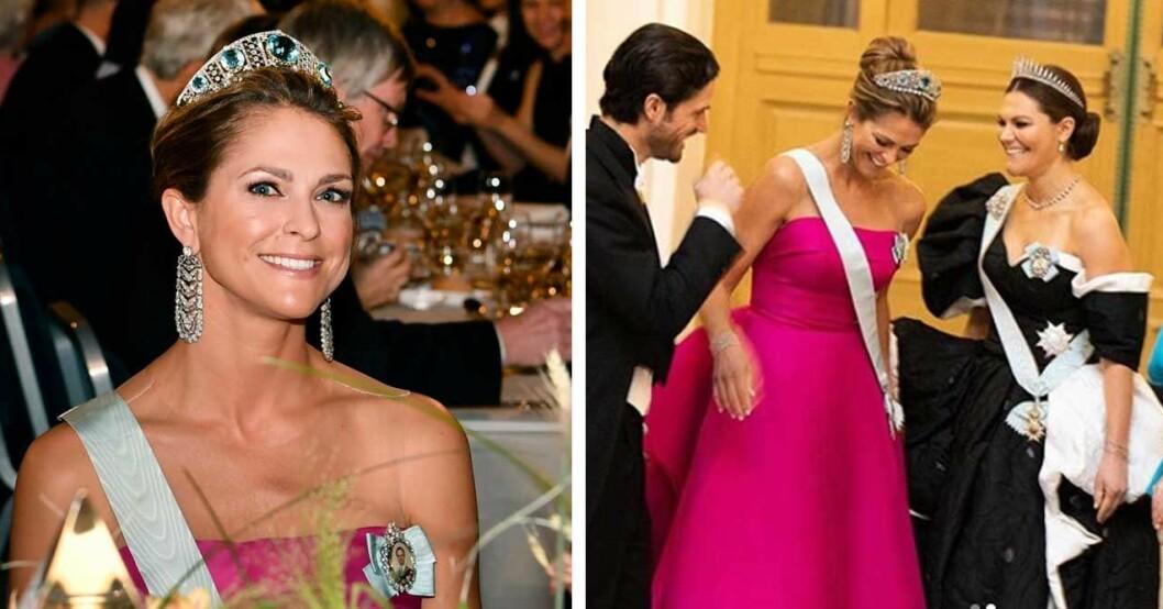 prinsessan madeleines privata bilder inifrån nobelfesten 2019