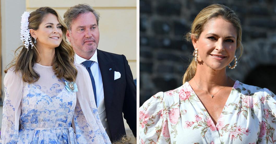 Glädjebeskedet från prinsessan Madeleine och Chris O'Neill