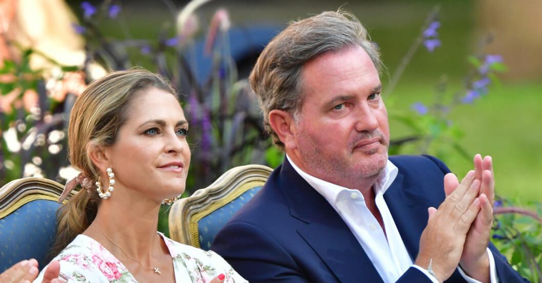 Prinsessan Madeleine och Chris O'Neill är tillbaka i Florida