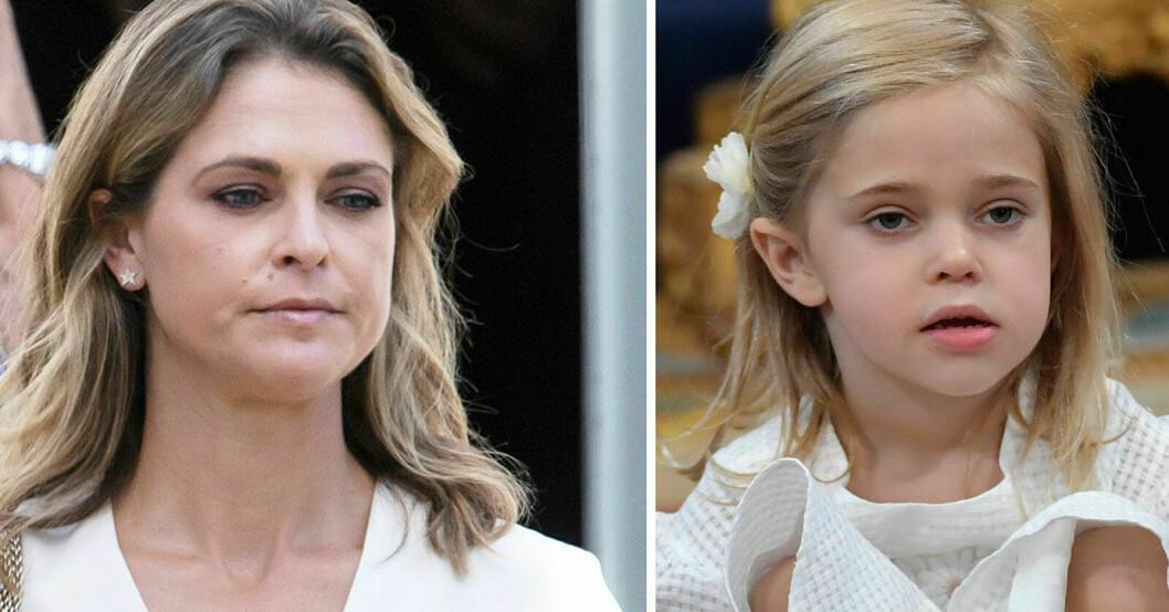 Prinsessan Madeleine och prinsessan Leonore