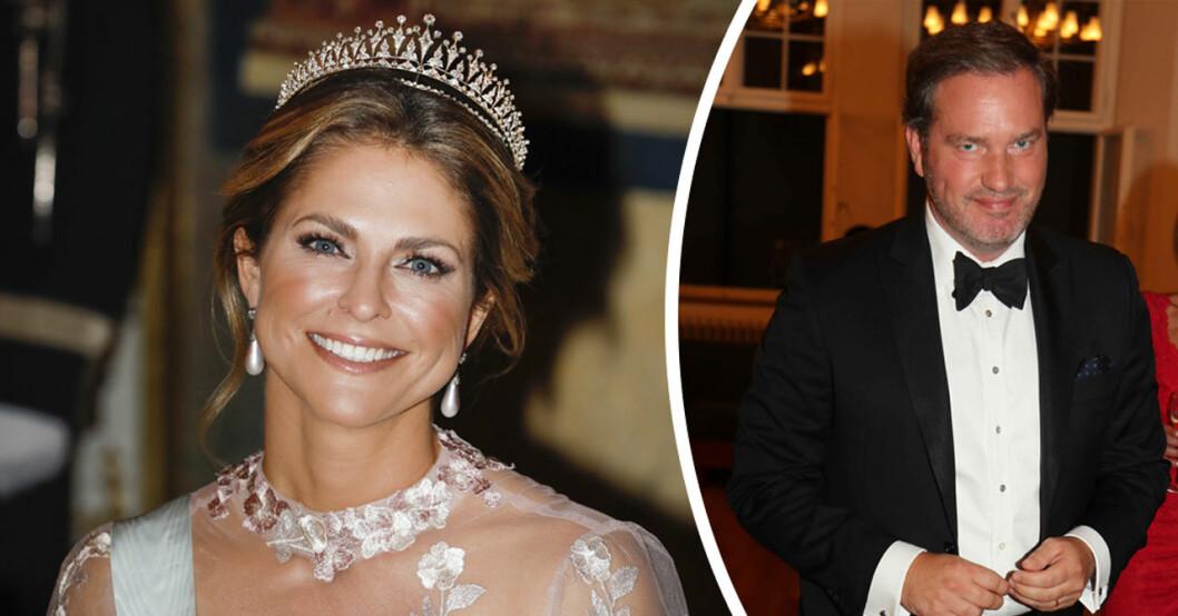 prinsessan madeleines kärlekshyllning till chris under nobel 2019