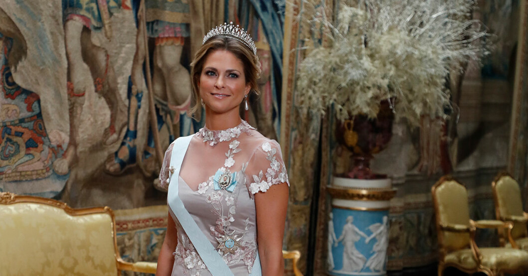 prinsessan madeleines kungens nobelmiddag 2019