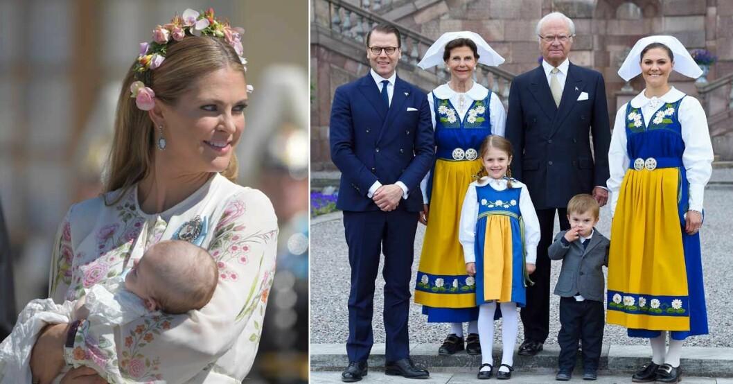 prinsessan madeleine kommer hem till sverige nationaldagen