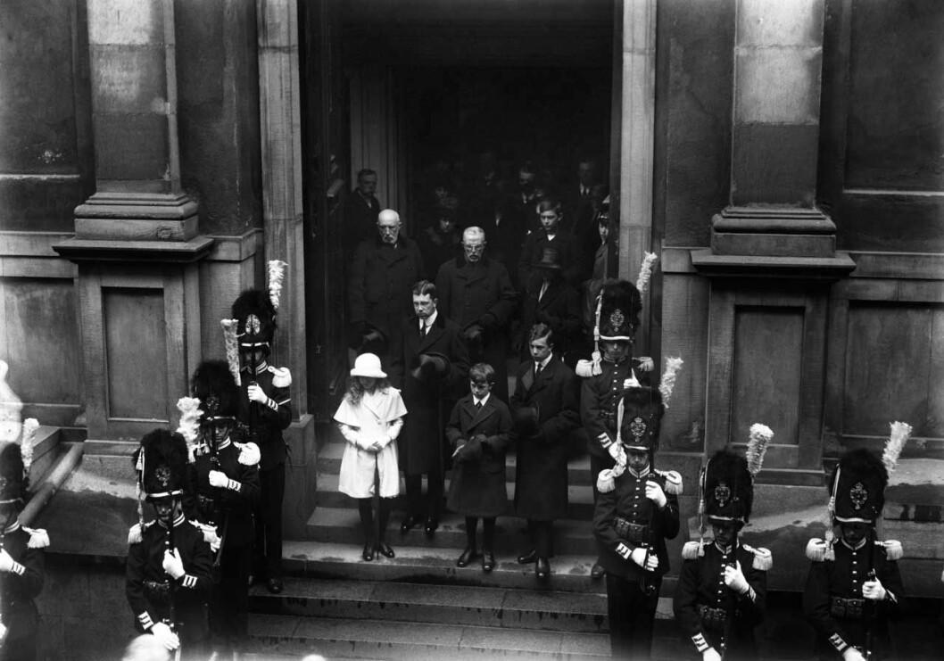 Margaretas begravning