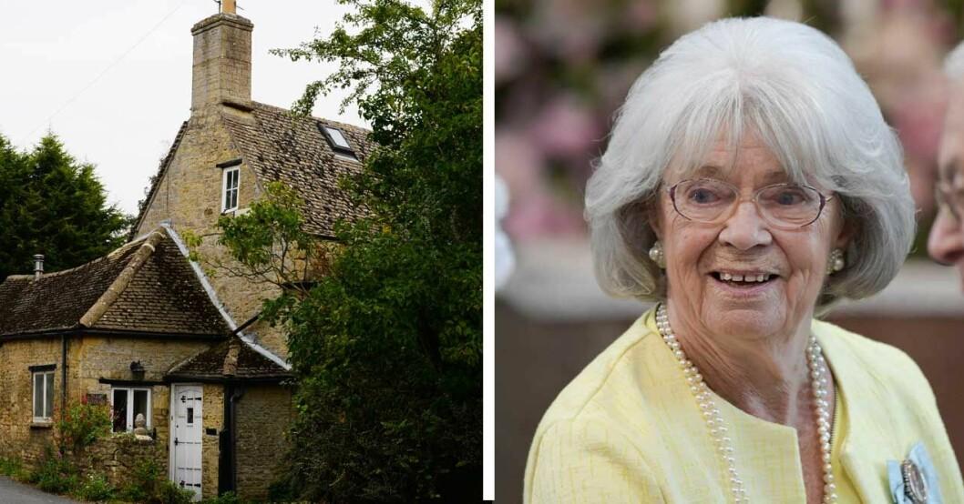 Margaretha bor i pittoreska Oxfordshire.