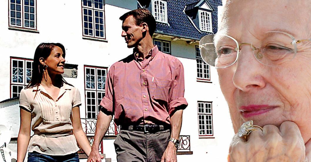 Nya beskedet till Margrethe: Prinsessan Marie och prins Joachim ska flytta tillbaka till Paris och lämnar då Schackenborgs slott.