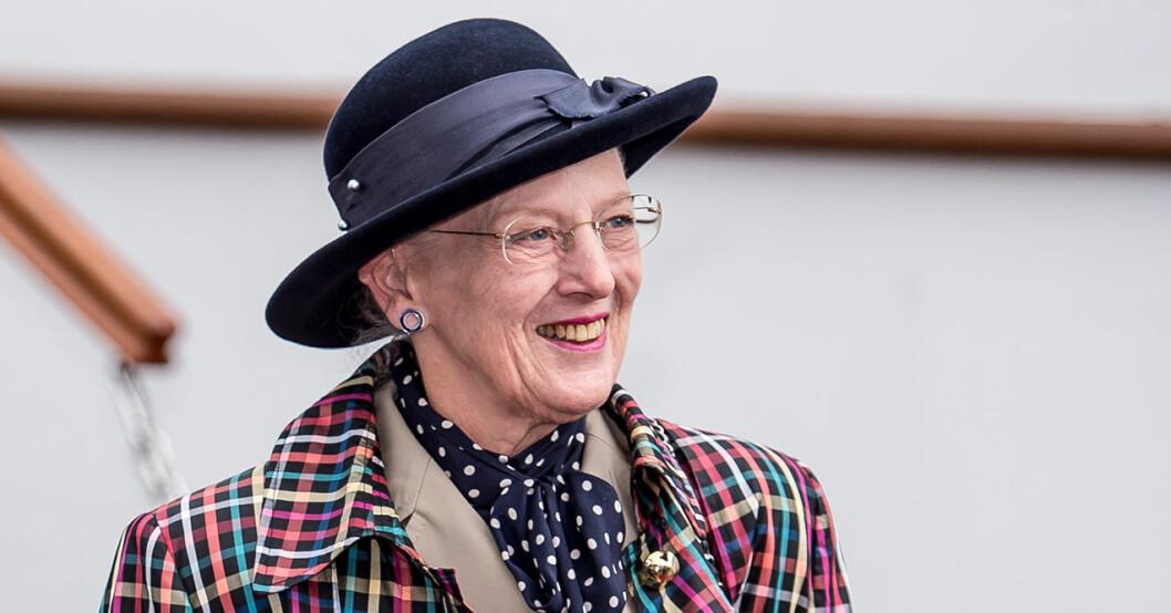 glädjebeskedet från drottning margrethe
