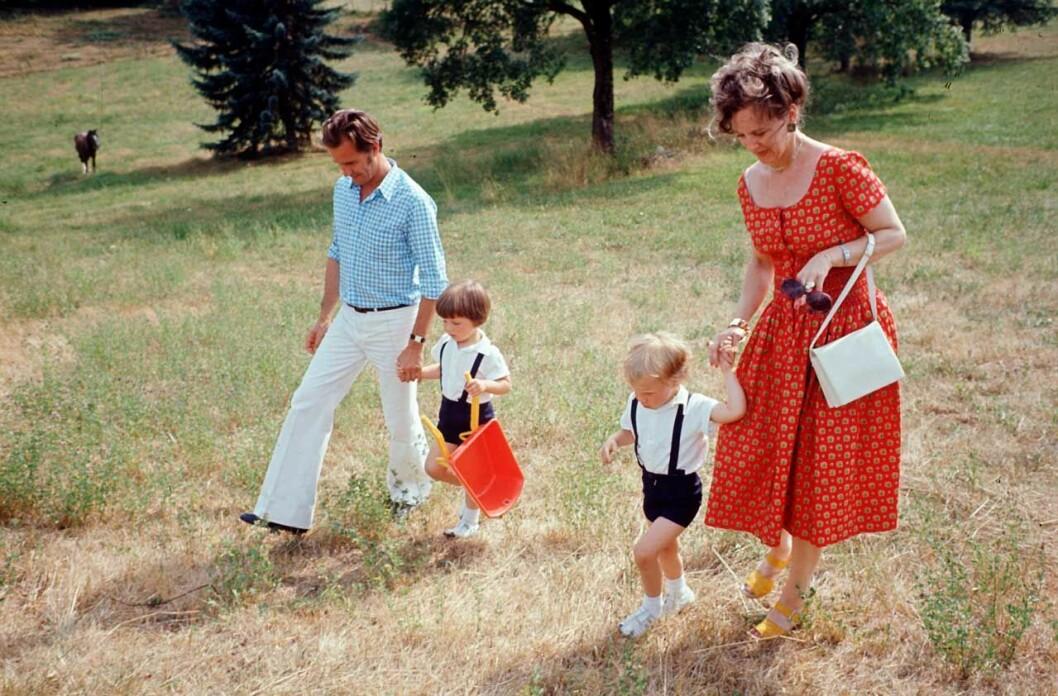 Margrethe Henrik och barnen