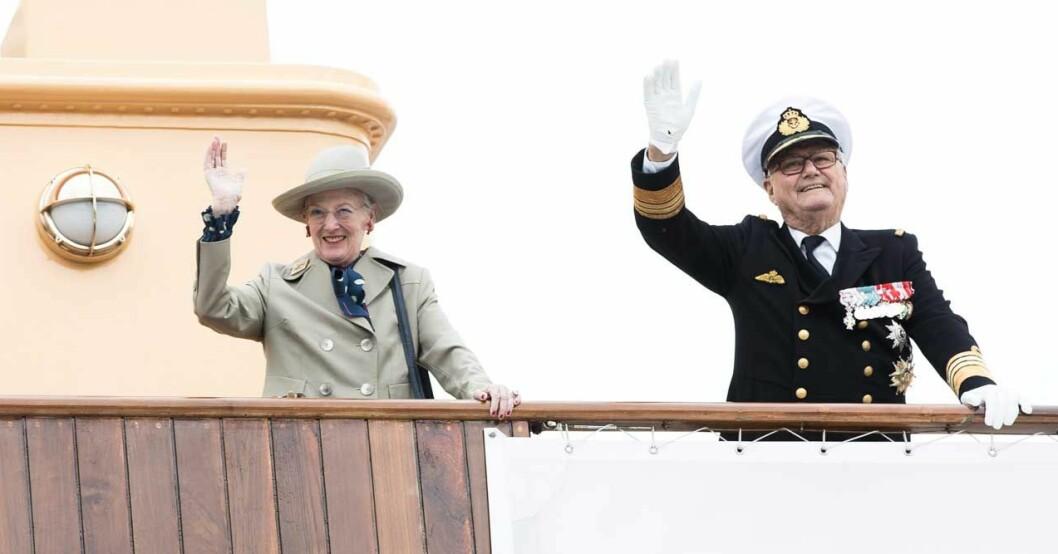 drottning Margrethe och prins Henrik