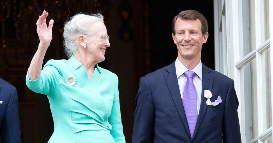 Mammahjärtat bankar hos Margrethe!
